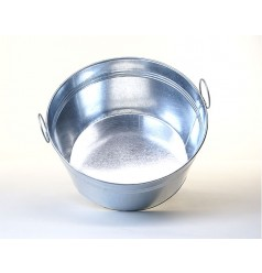 Beer or Ice Tub 18 Inch Dia Galvanized
