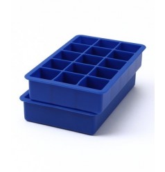 Perfect Ice Cube Tray (Set of 2) Stratus Blue by Tovolo