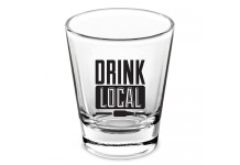 """Drink Local"" Shot Glass"