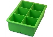 King Cube Ice Trays, Spring Green, by Tovolo