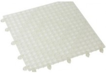 Interlocking Bar Mat, Clear