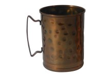 Moscow Mule Cup Hammered Copper 14 Oz