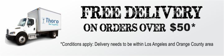 Free Delivery with the purchase of $50.00